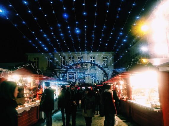 フランスのクリスマスマーケット