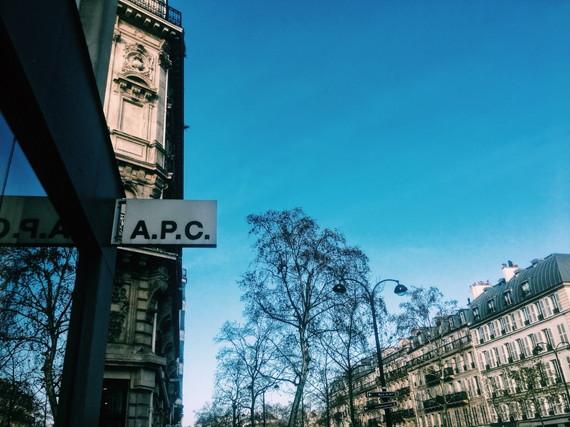 パリで行きたかったマレ地区へ
